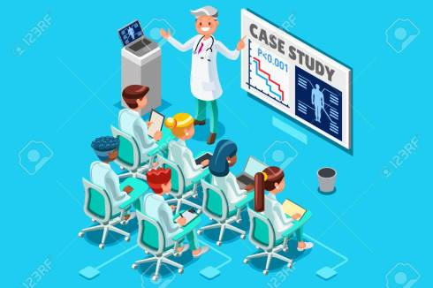 Clinic Medical Research Isometric People Vector