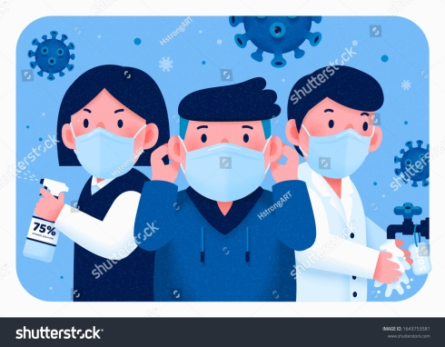 stock-vector-people-fight-for-health-with-wearing-face-mask-washing-hands-and-using-sanitizer-covid-1643753581